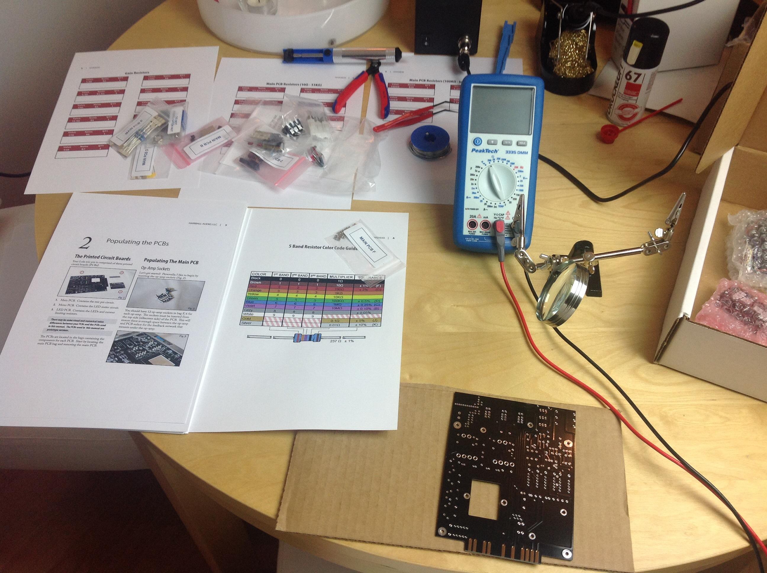 mikrofonpreamp-selbst-bauen-arbeitsplatz-vorbereiten
